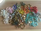 Large Lot 74 Bracelets  Vintage Beads Fine Lampwork Glass