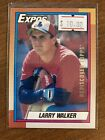 Larry Walker Rookie Cards Checklist and Autographed Memorabilia Guide 13
