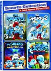 The Smurfs Collection - 4 Movie Collector's Set [DVD] NEW! Free shipping