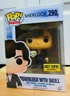 Funko Pop TV 290 Sherlock Holmes with Skull Hot Topic Exclusive BBC Television