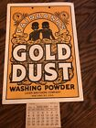Antique Fairbanks Gold Dust Washing Powder 1933 Calendar Americana