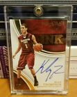 2016 Klay Thompson Immaculate Collegiate INK #'d 08 25 Auto