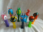 PEZ LOT 8 BUGZ Centipede, Bee, Worm, Beetle, Ant, Fly, Grasshopper, Ladybug