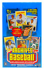 2018 Topps ARCHIVES Baseball Hobby Box - Factory Sealed! 2 On-Card Autos per Box