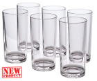 Set Of 6 Everyday Drinking Glasses Large Thick Tumblers Drinkware 16 Oz