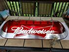 2008 Budweiser BOWTIE Pool Table Light Lamp Brand 55 LONG NEW IN BOX