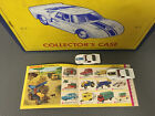 HTF Matchbox Lesney Ford GT40 Vintage Diecast Cars with Case and Catalog