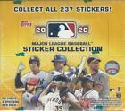 2020 Topps Sticker Collection 50 pack Hobby box 200 stickers per box