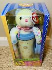 New TY Official Club Kit Beanie Babies Bits the Pastel Bear Collectible & Mug!!