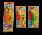 PEZ DISPENSER PIXAR BEE MOVIE BARRY +  Lot of 3 FACTORY SEALED ON CARD