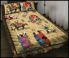 A Day Of Native American Bedding Set All Size