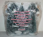 New Lemax Village Collection 21 PC Assorted Frosted Pine Trees