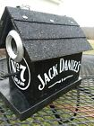 Handmade and Handpainted JACK DANIELS Birdhouse