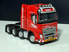Volvo FH4 Globetrotter 8x4 Red LineWSI truck models150 scale