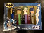 PEZ  Batman Collectors Set 4 Piece Joker Two Face Riddler DC Comics -New Sealed