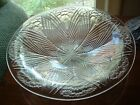 LARGE LALIQUE BOWL CLEAR AND FROSTED GLASS OEILLETS NUMBERED MINT