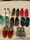 Toddler Boy Shoes Size 9  10 Lot Of 7 Crocs Adidas Sperry Nike Native