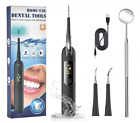 Ultrasonic Electric Dental Calculus Remover Led Screen 5 Modes Plaque Cleaning