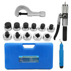 Expanding Hydraulic Tube 11 Lever Expander Sets Tubing Tools Swaging Case HVAC