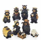 Kurt S Adler 4 Resin Nativity Bear Set 9 PC New in Original Box