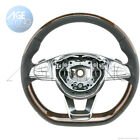 OEM Mercedes Benz S550 S600 S63 S65 AMG WALNUT Wood Leather Steering Wheel 15 18