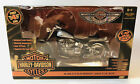 American Muscle 2003 Harley Davidson Fat Boy 110 Die Cast Series 4New In Box