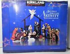 Kirkland Signature Christmas Nativity Scene Set 13 Piece Porcelain + Creche VGC