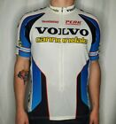 VTG Cannondale Volvo Shimano Peak Cycling 3 4 Zip Jersey Shirt Bicycle Large