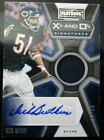 Dick Butkus 2019 Panini Playbook X's and O's Autograph Jersey Relic Auto 1 35
