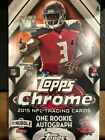 2015 TOPPS CHROME FOOTBALL FACTORY SEALED HOBBY BOX GURLEY RC