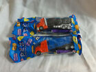 Pez Lot 2 Truck with Series E: V-Grill Red / Blue & Tanker Red cab black trailer