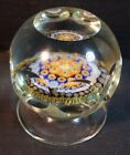 St Louis Attributed Millefiori Magnum Size Glass Paperweight