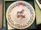 New Lenox Holiday Annual Christmas Plate 1992 Rocking Horse 74027 2nd In Series