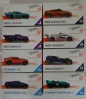2018 HOT WHEELS id CAR Mattel ALL DIFFERENT LIMITED HARD TO FIND Lot of 8 NEW