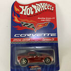 Red Corvette C6 Hot Wheels Bowling Green 2004