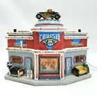 Lemax Christmas Village Cruisin Cafe Diner Drive In Restaurant Santa City Snow