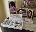 Precious Moments Come Let Us Adore Him Nativity Figurines Buildings  Ornaments