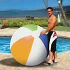 Poolmaster 60 Inch Classic Style Giant Beach Ball Inflatable Pool Toy 81178
