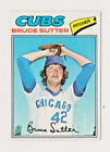 Bruce Sutter Cards, Rookie Card and Autographed Memorabilia Guide 3