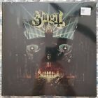 Brand New Sealed Ghost Meliora Scandinavian Gatefold Amber Colored Vinyl Booklet