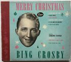 Bing Crosby Merry Christmas 1947 Book of 4 78 RPM Records Decca A 550