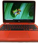 Dell Inspiron 11 3168 116 RED  2 in 1 Laptop  N3710 Quad 4GB RAM 500GB HDD