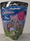 Playmobil Fairies 5440 Brand New Sealed Food Fairy And Unicorn Morning Dew 25 PC