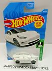 2019 HOT WHEELS ERROR WHITE TESLA MODEL 3 MISSING ALL WINDOWS SUPER RARE ERROR