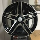 20 AMG S63 BLACK RIMS WHEELS FITS MERCEDES BENZ C CLASS C230 C280 C320 C350