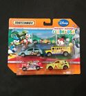 New MATCHBOX Disney MICKEY MOUSE CLUBHOUSE Set of 5 Cars Hard To Find RARE