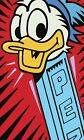 Donald Duck Pez Poster, Print or Canvas