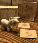 Enesco Precious Moments DONKEY Nativity Animal Figurine E 5621 Retired NO MARK