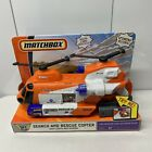 Matchbox Search and Rescue Copter Chopper Lights and Sounds Sky Busters