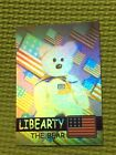 Ty Beanie Babies Trading Card Libearty The Bear Hologram, Series 2 Green